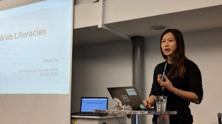 Wendy Liu, talk on tech economies and building critical understanding of the web